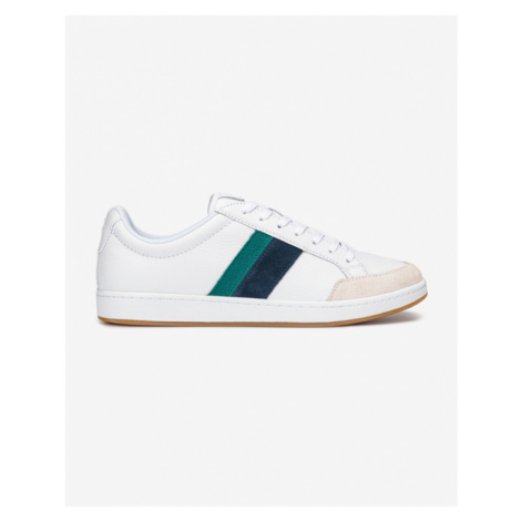 Lacoste Carnaby Ace Tumbled Sneakers White