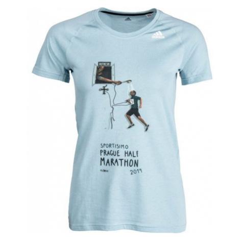 adidas PRIME 2.0 SS T blue - Women's sports T-shirt