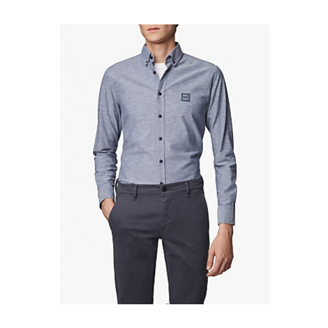 BOSS Mabsoot Cotton Slim Fit Shirt Hugo Boss