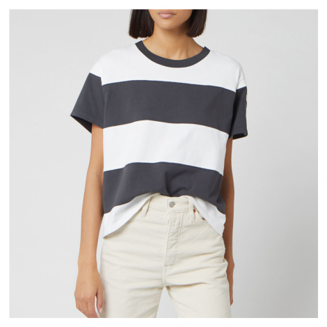 Levi's Women's Rugby Stripe Parker Short Sleeve T-Shirt - Black/White Levi´s
