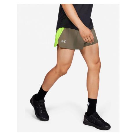 Under Armour Launch SW Short pants Green