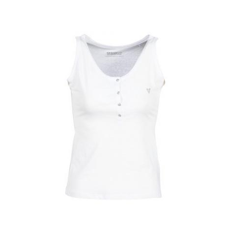Guess SERAFINO women's Vest top in White