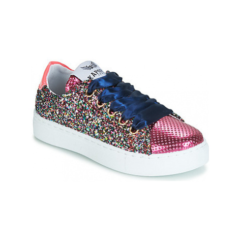 Kaporal SHERIFA girls's Children's Shoes (Trainers) in Pink