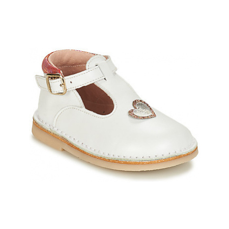 André CHERIE girls's Children's Shoes (Pumps / Ballerinas) in White