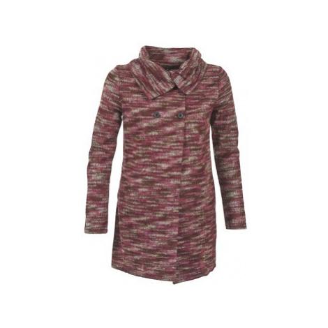 Smash LAVIGNE women's Coat in Red