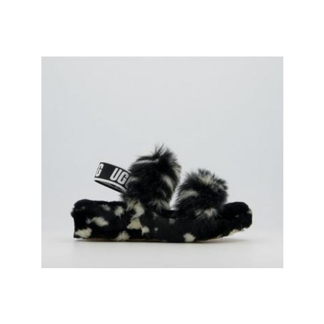 UGG Oh Yeah Slippers BLACK SPOT