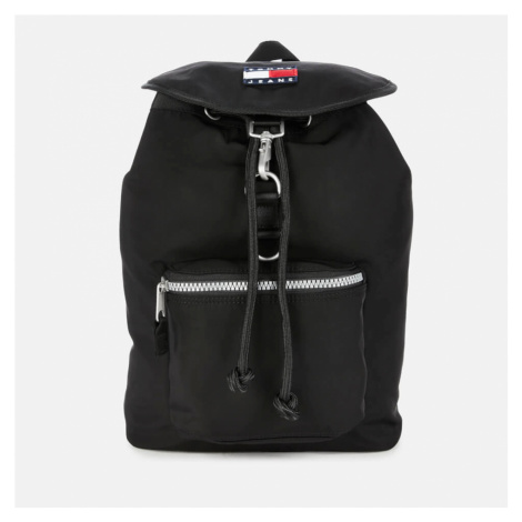 Tommy Jeans Men's TJM Heritage Flap Backpack - Black Tommy Hilfiger