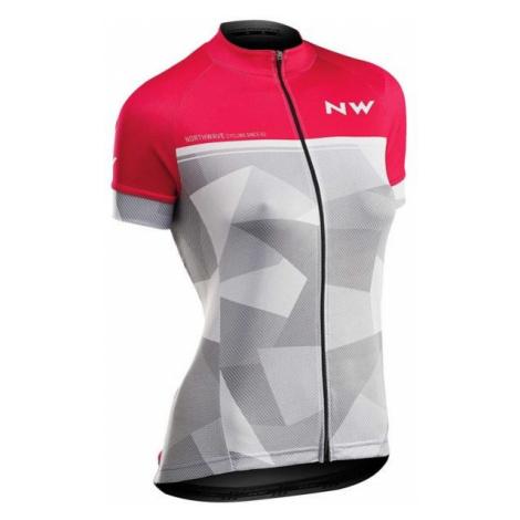 Northwave ORIGIN W pink - Women's biking jersey North Wave