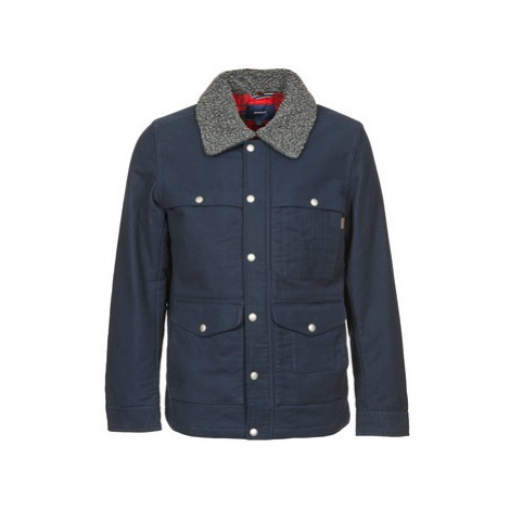 Gant SMETHWICK men's Jacket in Blue