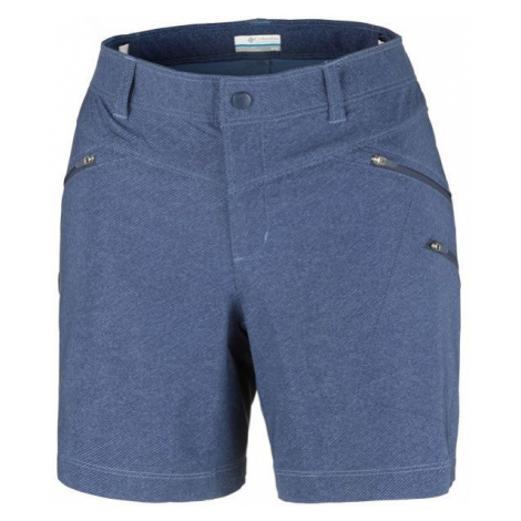 Columbia PEAK TO POINT SHORT blue - Women's sports shorts