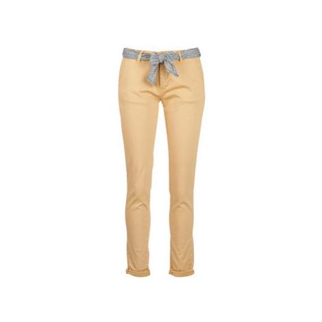 Le Temps des Cerises LIDY women's Trousers in Beige