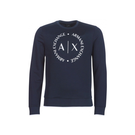 Armani Exchange HERBARI men's Sweatshirt in Black