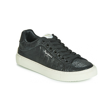 Pepe jeans ADAM COCO women's Shoes (Trainers) in Black