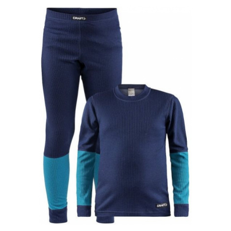 Craft SET BASELAYER JNR blue - Kids' functional set