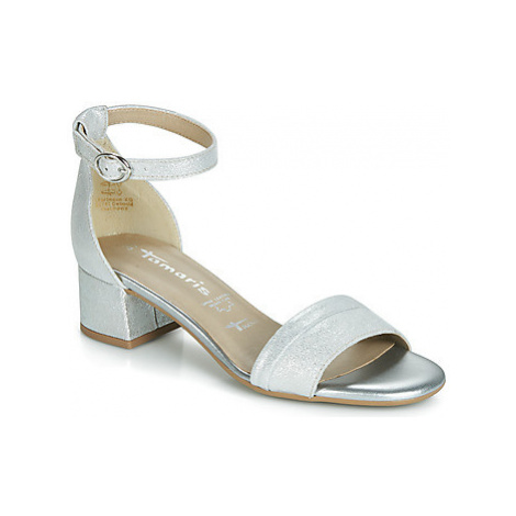 Tamaris RUMA women's Sandals in Silver
