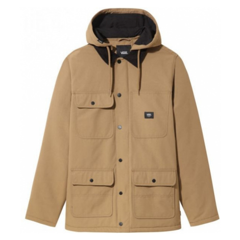 Vans MN DRILL CHORE COAT MTE brown - Men's jacket