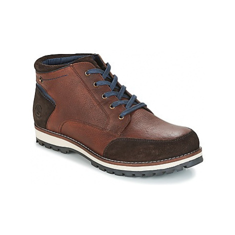 Lumberjack ROMAN men's Mid Boots in Brown