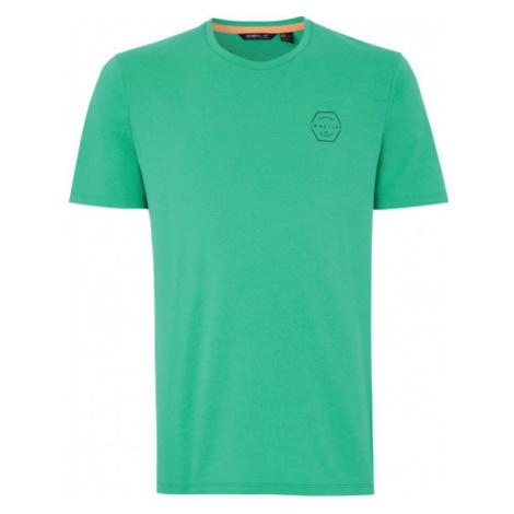 O'Neill PM TEAM HYBRID T-SHIRT green - Men's T-Shirt