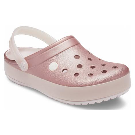 shoes Crocs Crocband Ice Pop Clog - Barely Pink - women´s