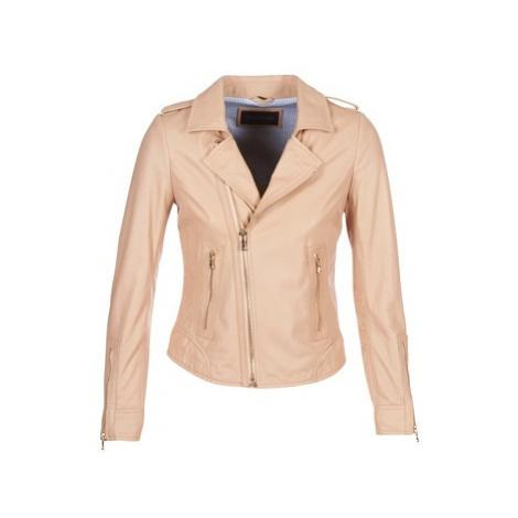 Oakwood NEVADA women's Leather jacket in Pink