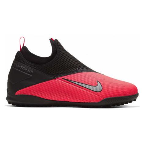 Nike JR PHANTOM VISION 2 ACADEMY DF TF black - Kids' turf football shoes