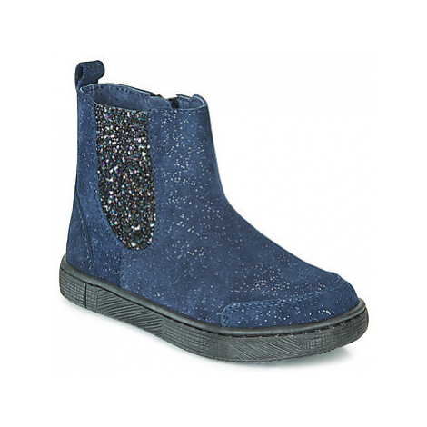 Mod'8 BLABIS girls's Children's Mid Boots in Blue