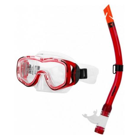 Miton PROTEUS RIVER red - Junior diving set - Miton