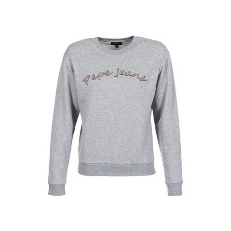 Pepe jeans MOMO women's Sweatshirt in Grey