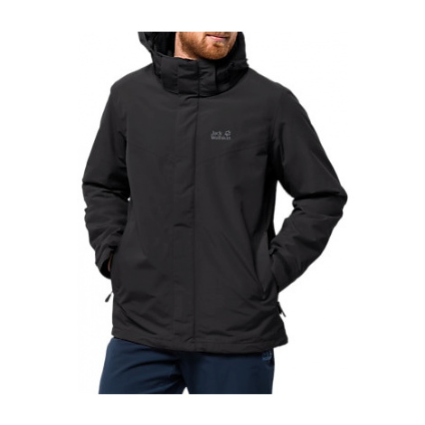 Jack Wolfskin Gotland 3-in-1 Men's Jacket, Black