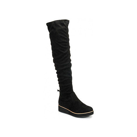 Bullboxer 066506F7TBLCK women's High Boots in Black