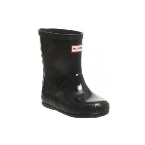 Hunter First Classic Welly BLACK GLOSS