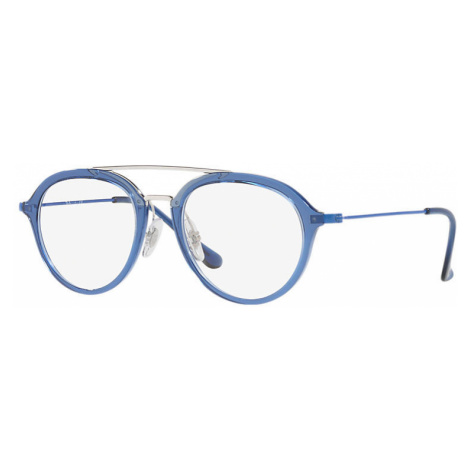 Ray Ban Rb9065v Unisex Optical Lenses: Multicolor, Frame: Blue - RB9065V 3743 48-18