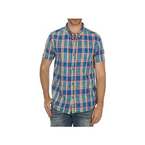 Billabong CHINOYE men's Short sleeved Shirt in Blue