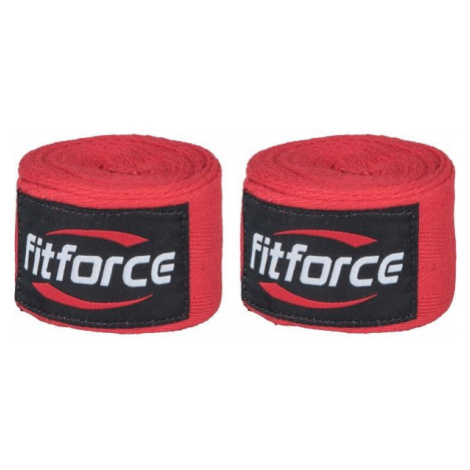 Fitforce WRAPS 4,5M red - Wraps