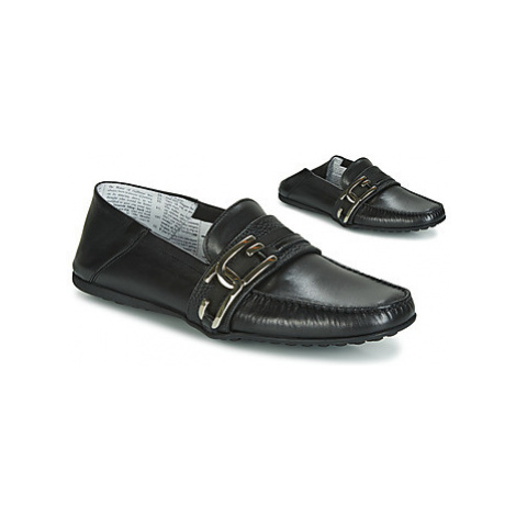 John Galliano 6733 men's Loafers / Casual Shoes in Black