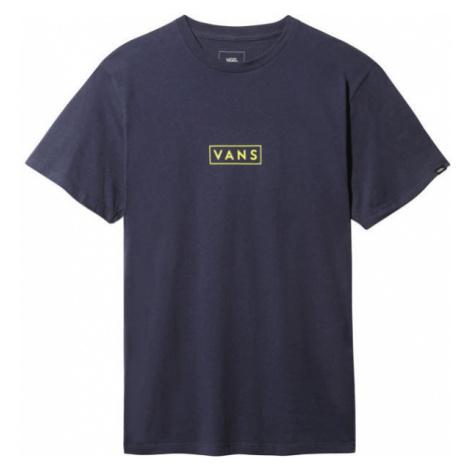 Vans MN VANS EASY BOX SS dark blue - Men's T-shirt