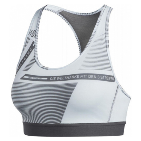 adidas DRST AOP BOS BR white - Sports bra