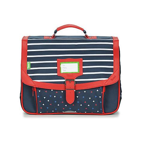 Tann's BRIEUC CARTABLE 38 CM boys's Briefcase in Blue