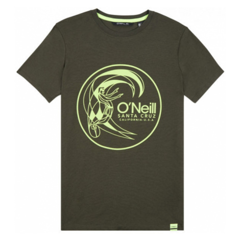 Green boys' t-shirts