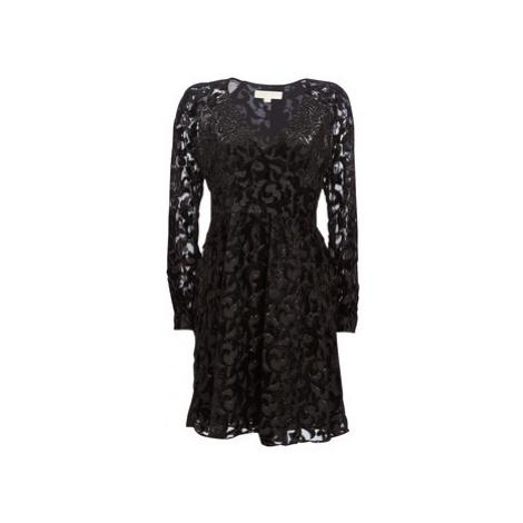 MICHAEL Michael Kors RAGLAN SLV SHORT DRS women's Dress in Black