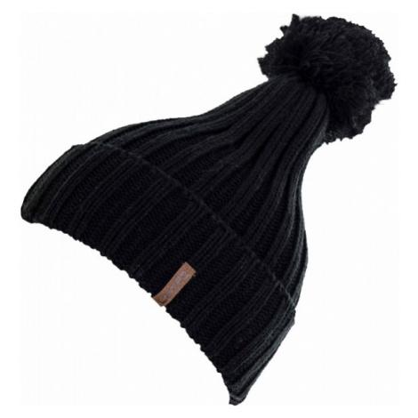 Lewro GABY black - Girls' knitted hat