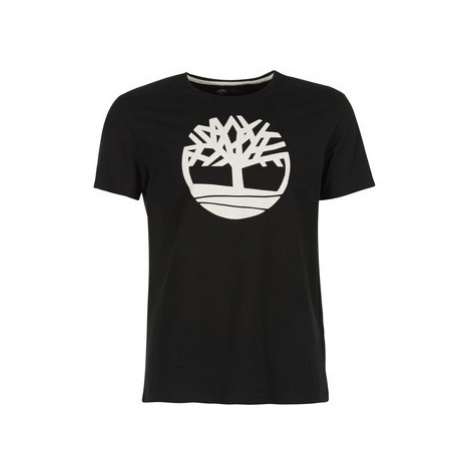 Timberland SS KENNEBEC RIVER BRAND TREE TEE men's T shirt in Black