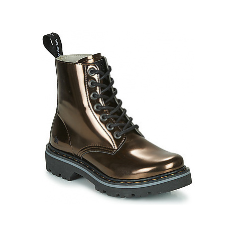 Art FANTASY women's Mid Boots in Gold