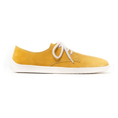 Barefoot Shoes - Be Lenka City - Mustard & White 47