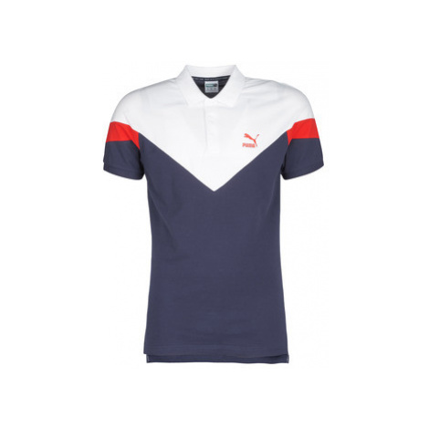 Puma ICONI MCS POLO men's Polo shirt in Blue