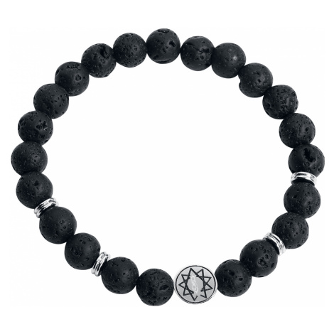 Slipknot - Nonagram - Bracelet - black-silver
