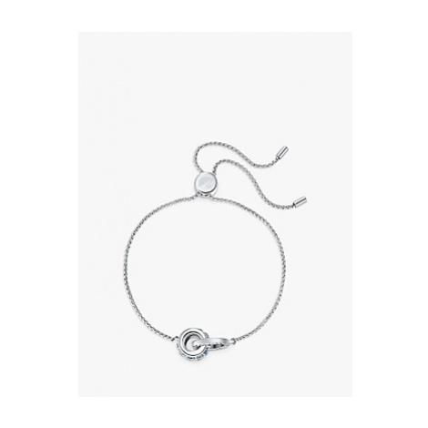 Swarovski Further Rhodium Plated Bracelet, Silver/Blue