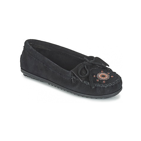 Minnetonka ME TO WE MOC women's Loafers / Casual Shoes in Black