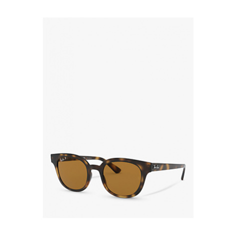 Ray-Ban RB4324 Unisex Polarised Square Sunglasses