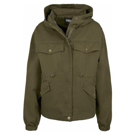 Urban Classics - Ladies Oversized Parka Jacket - Girls jacket - olive